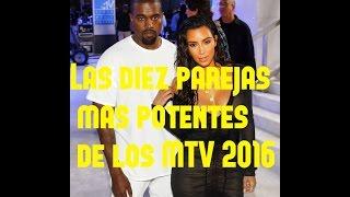 las diez parejas ms atrevidas de los mtv video music awards 2016