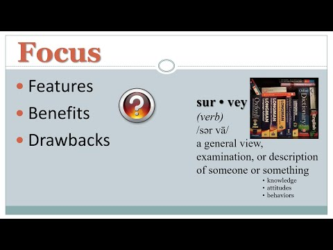 Survey Research: Features, Benefits, & Drawbacks