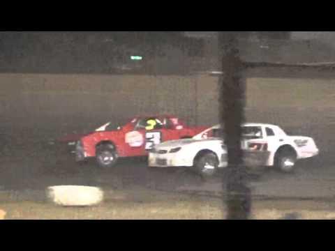 Ark La Tex Speedway Factory stock A feature cajun classic part 3 2015