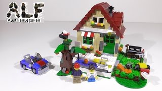 Lego Creator 31038 Changing Seasons Model 1of 3 - Lego Speed Build Review