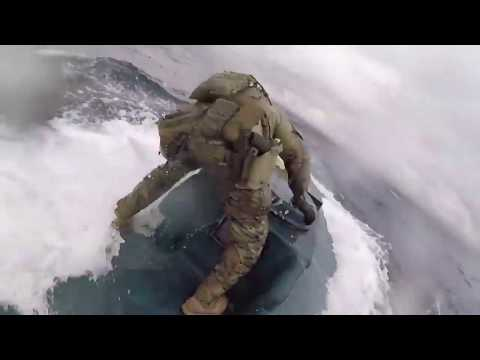 Michael Berry - US Coast Guard Releases Incredible Video Of Drug Bust At Sea