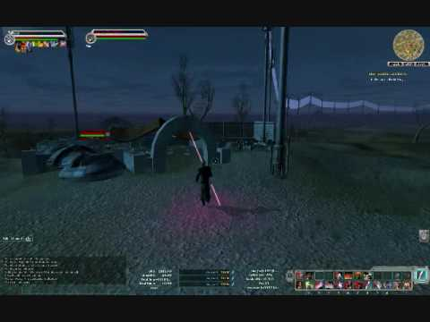 Star Wars Galaxies Gameplay