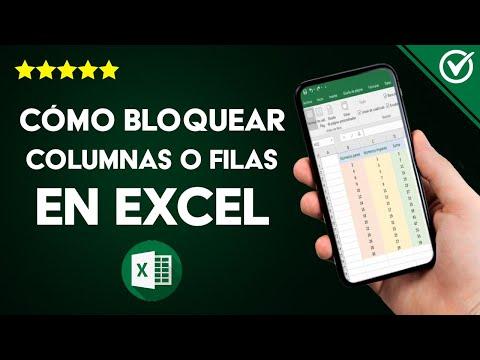 Cómo Proteger o Bloquear Celdas, Columnas o Filas en Excel para que no se Muevan