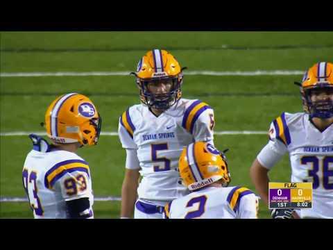 Game Replay:  Denhan Springs Yellowjackets vs. Hahnville Tigers (Louisiana)