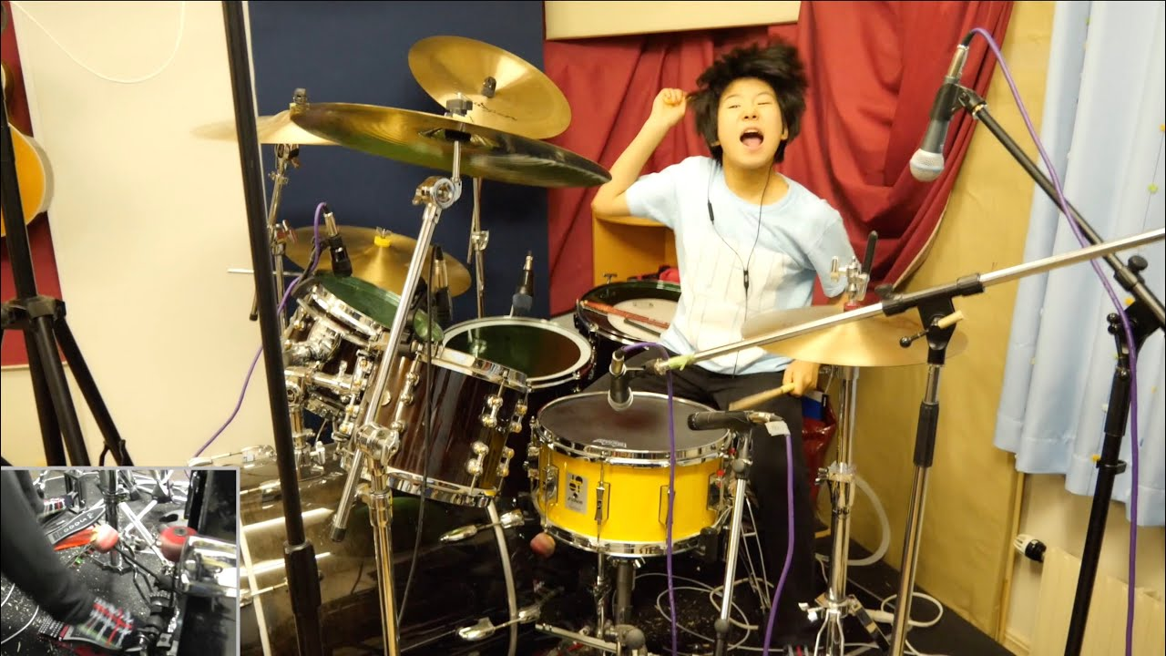 """【Drums Only】""""School of Rock"""" Cover Project Begins! I'm looking for kids musicians❗️"""