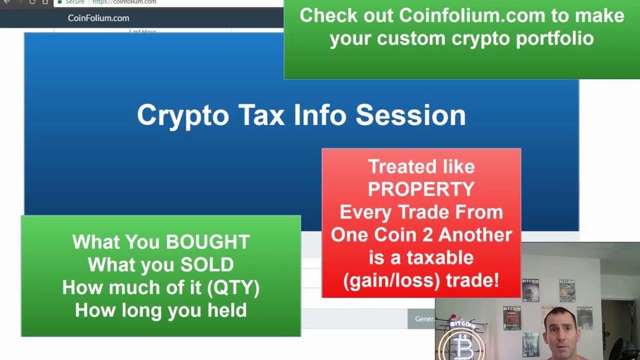 are you taxed on cryptocurrency gains
