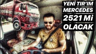 NOSTALJİ KAMYONU 2521 İLE ŞEHİR İÇİ...!