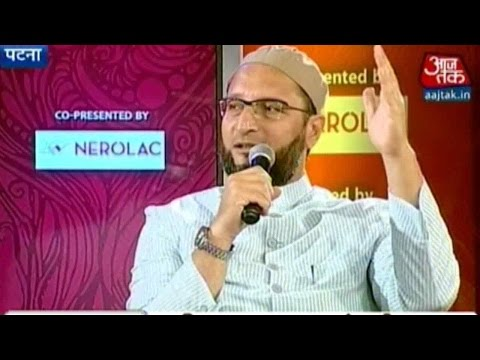 Panchayat Aaj Tak: AIMIM Chief Asaduddin Owaisi on Bihar Foray
