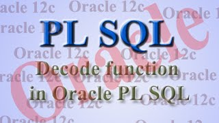 Image result for DECODE Function in SQL