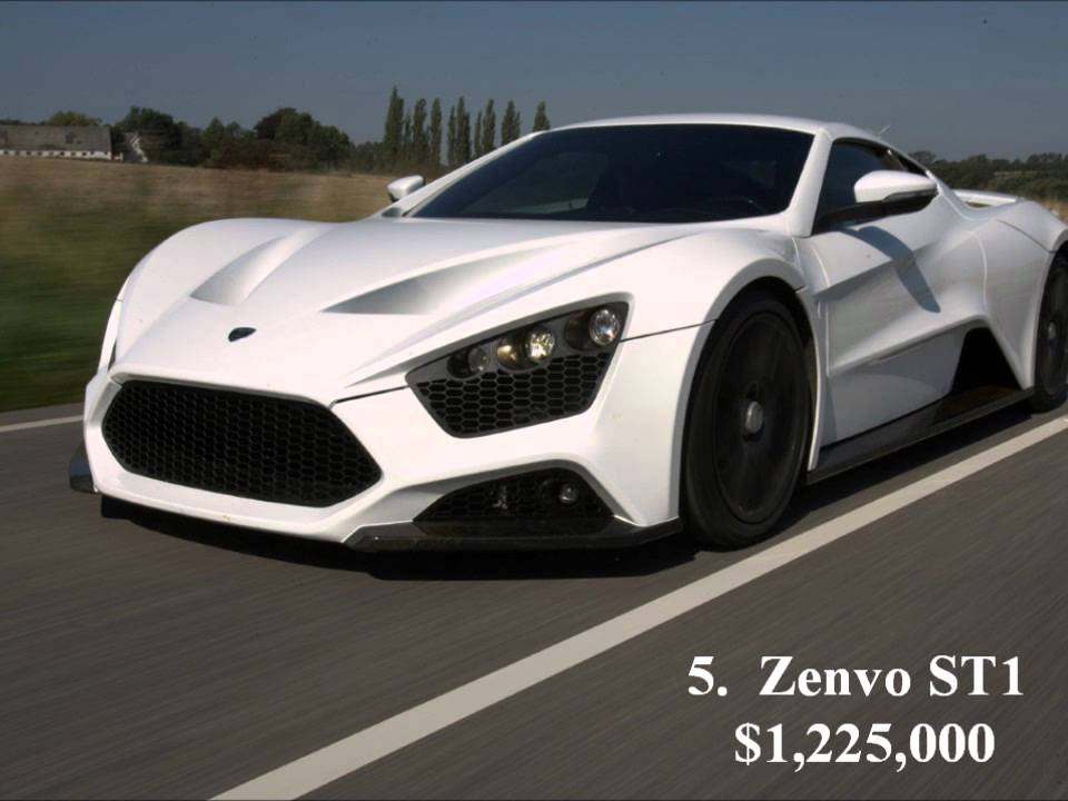 Most Expensive Cars In The World Top 10 List 2012 2013