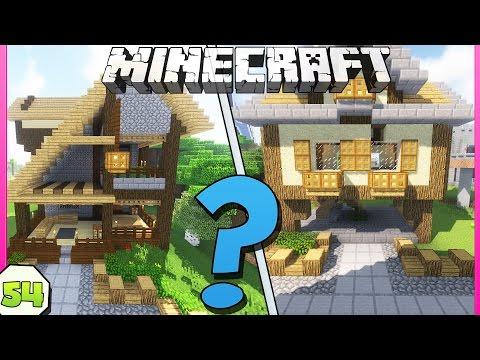 CHI HA COSTRUITO LA CASA PIU' BELLA? MINECRAFT VANILLA ITA EP.54 - Видео из Майнкрафт (Minecraft)