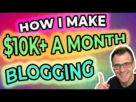 Ways to make money online blogger