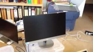 test aoc i2369vm als alternative zum apple cinema display