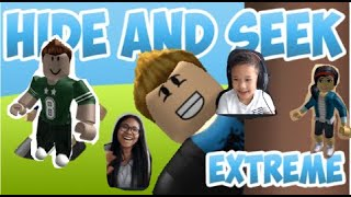 ROBLOX: Hide And Seek Extreme Fun ! playing with mum ! Let's Play games ! #roblox