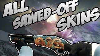 CS:GO - SAWED-OFF - All Skins Showcase + Price | Все Скины SAWED-OFF + Цены