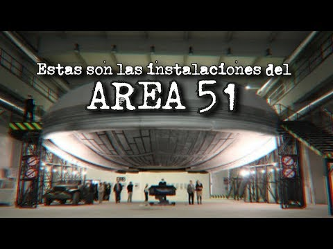Estas son las instalaciones del AREA 51 (Este video puede ser eliminado)