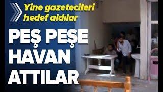 Son Dakika: YPG/PKK Yine Gazetecileri Hedef Aldı! / A Haber