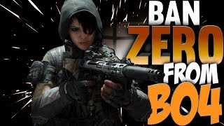 Ban ZERO From Black Ops 4? New Update 1.10 Patch Notes