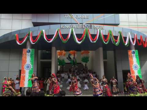 Students performing at EISB during Independence Day Celebrations Aug 15, 2016