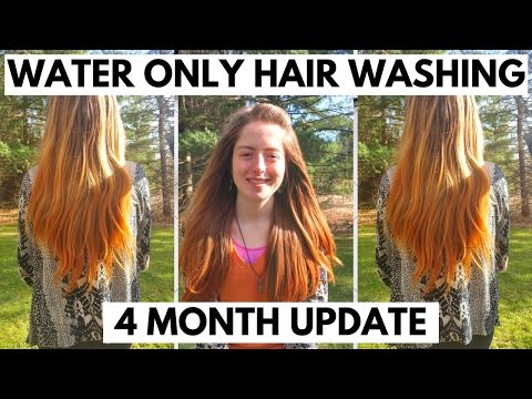 WATER ONLY HAIR WASHING-4 MONTH UPDATE