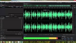 5 Создание аудио дорожки
