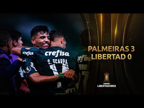 Palmeiras Libertad Goals And Highlights
