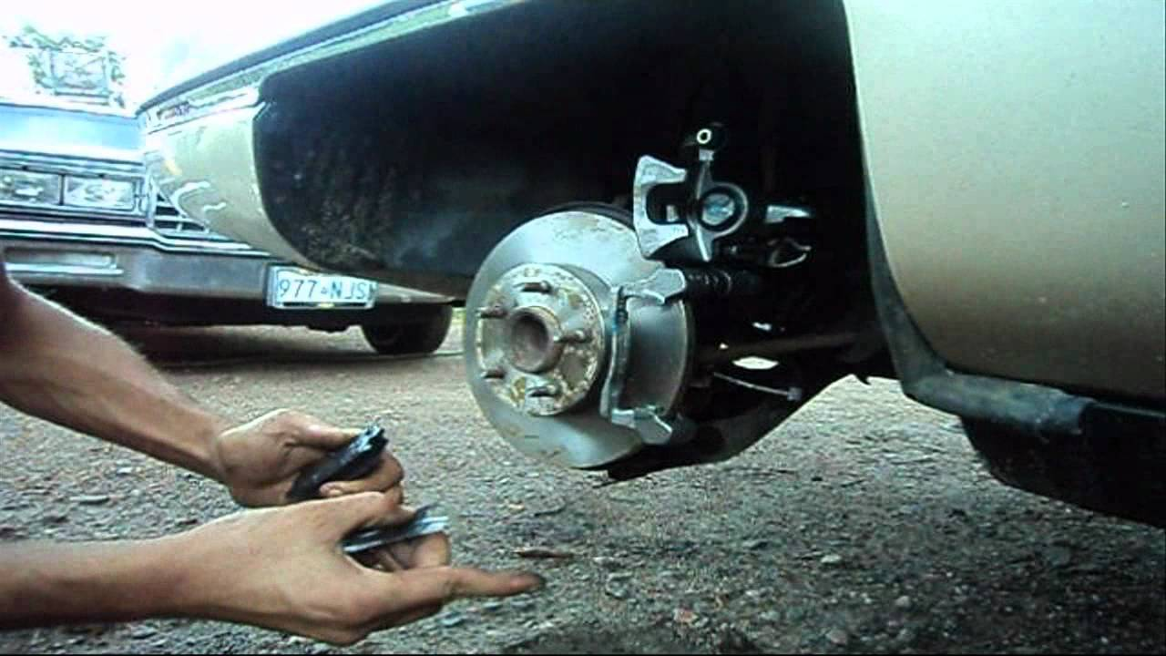Rear Disc Brake Caliper Replacement 1994 Cadillac Deville