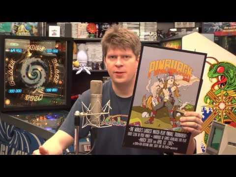 Classic Game Room   PINBURGH 2012 Poster review!
