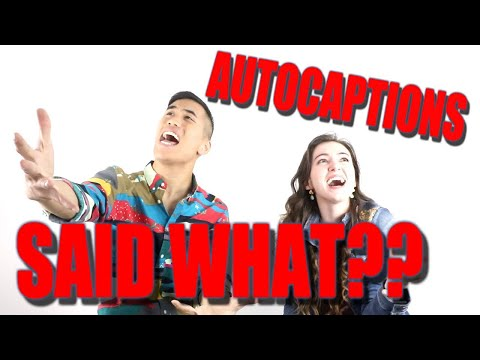 AUTOCAPTION Sings?? (ft. Andrew Huang)