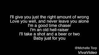 Carter Winter - Bad Boy lyrics