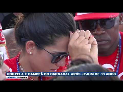 RJ: Portela é a campeã do Carnaval 2017