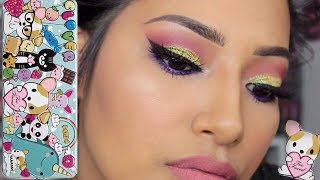 New Toofaced Clover Eye Shadow Palette Tutorial & Swatches! GET READY WITH ME