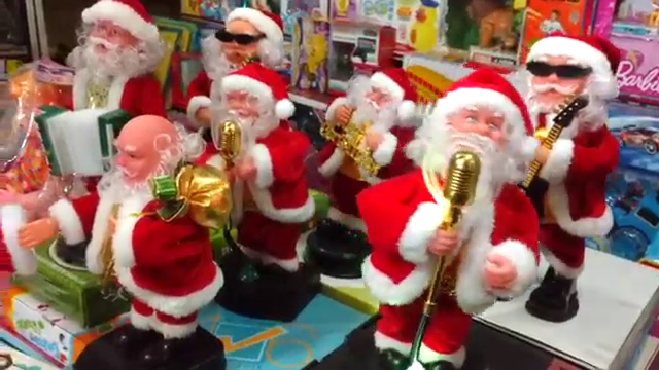 Toys From Santa : Santa clause dancing toy youtube