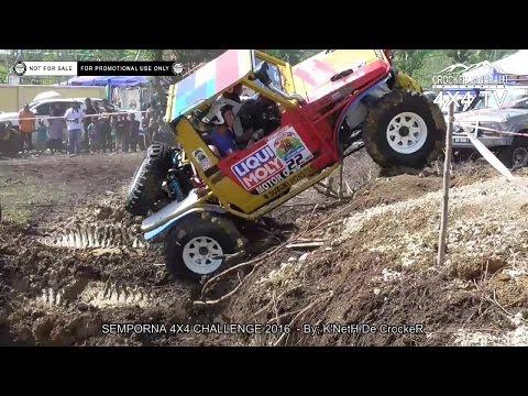 Semporna 4x4 Challenge 2016 (Amateur Category) - By; K'NetH De CrockeR (SS02/08)