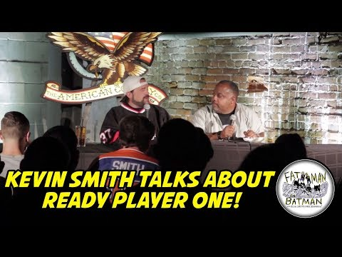 KEVIN SMITH TALKS ABOUT READY PLAYER ONE!