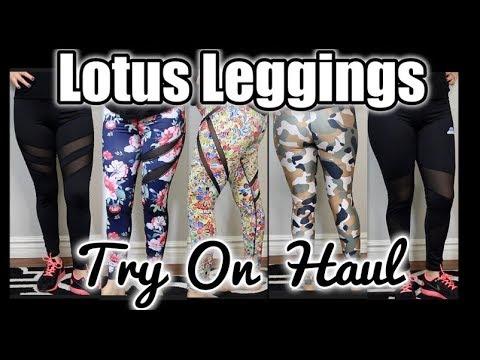 LOTUS LEGGINGS TRY ON HAUL | ACTIVE WEAR