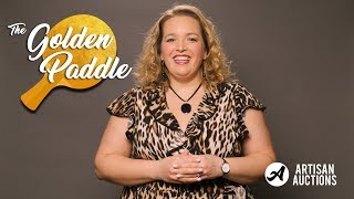 Benefit Gala Tutorial | Drive Up Live Auction Prices With The Golden Paddle
