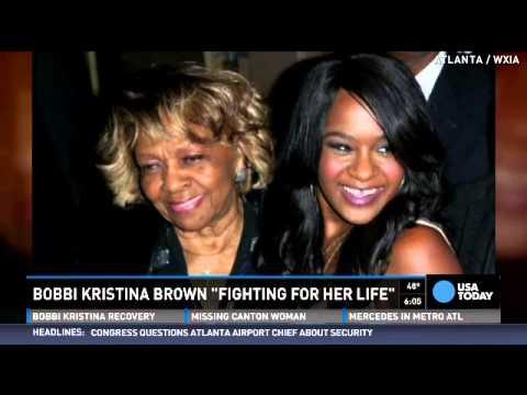 Bobbi Kristina Brown opened her eyes
