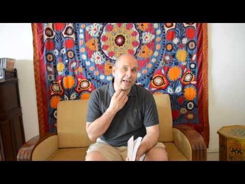Tahir Shah talking about Paris Syndrome