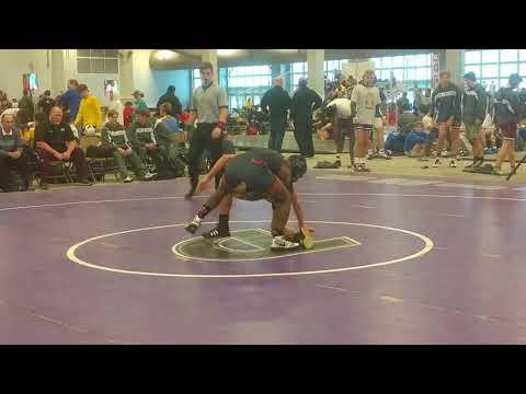 Lance Robinson vs. De LaSalle @ Deep South Bayou Duals 2017- 152 lbs