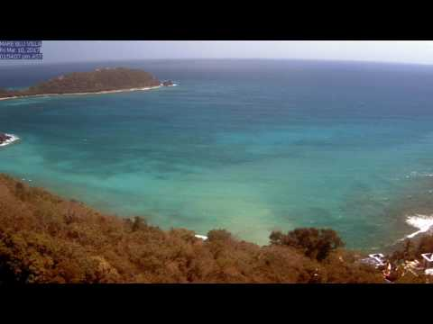 St. John Rendezvous Bay, March 2017 Time Lapse