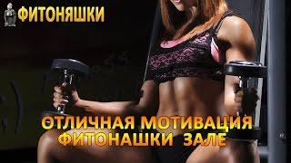 Отличная мотивация   Фитоняшки в зале