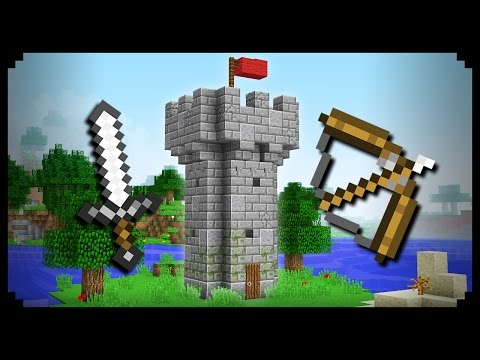 how to build a minecraft castle tutorial