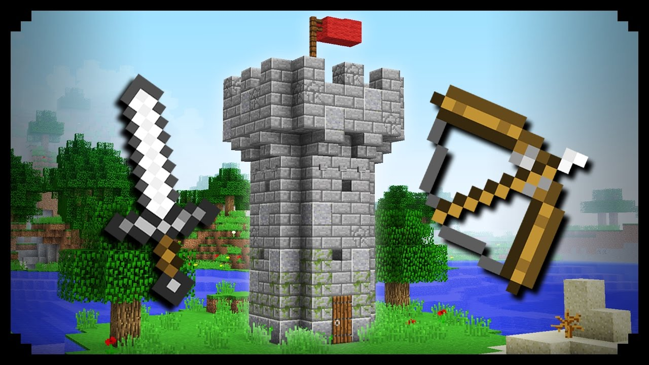 Marvelous ✓ Minecraft: How To Make A Castle Tower   YouTube