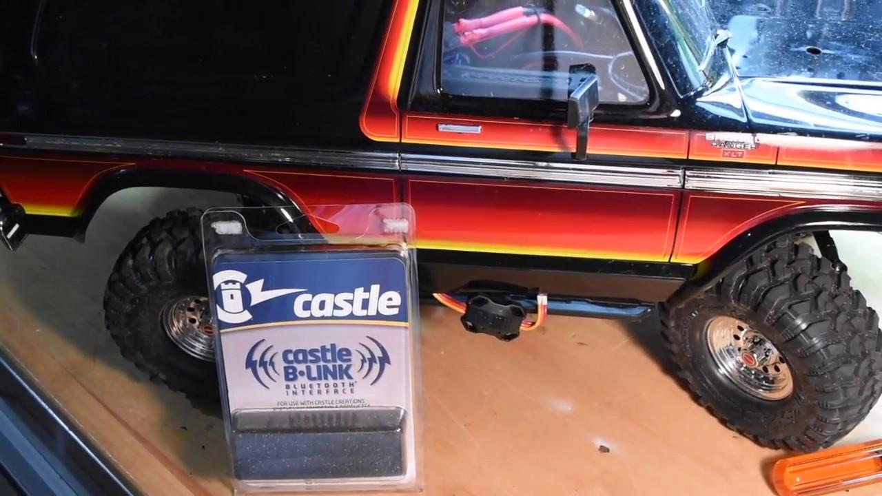Traxxas TRX4 Bronco Castle B Link Install!!