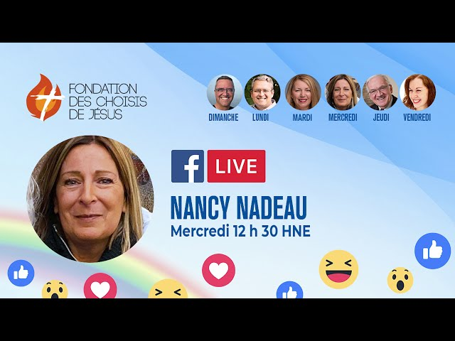 Facebook Live quotidien 06/01/2021 - En route vers la transformation!