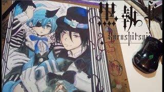 Sebastian Michaelis & Ciel Phantomhive // Kuroshitsuji : Book of Circus ( Speed Drawing )