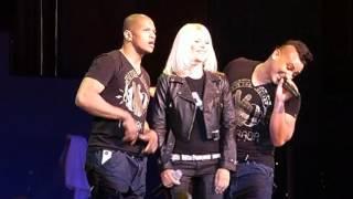 Концерт C.C.Catch в Кондопоге (Ледовый дворец) 28.03.2012