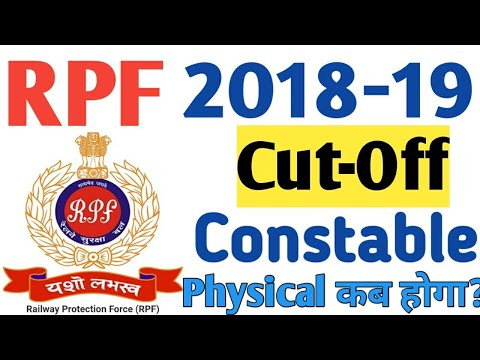 RPF Constable Expected Cut -Off Marks (Male & Female) 2019