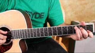 Acoustic Blues Guitar FingerPicking Lesson - Fingerstyle Acoustic Blues on Guitar Lessons